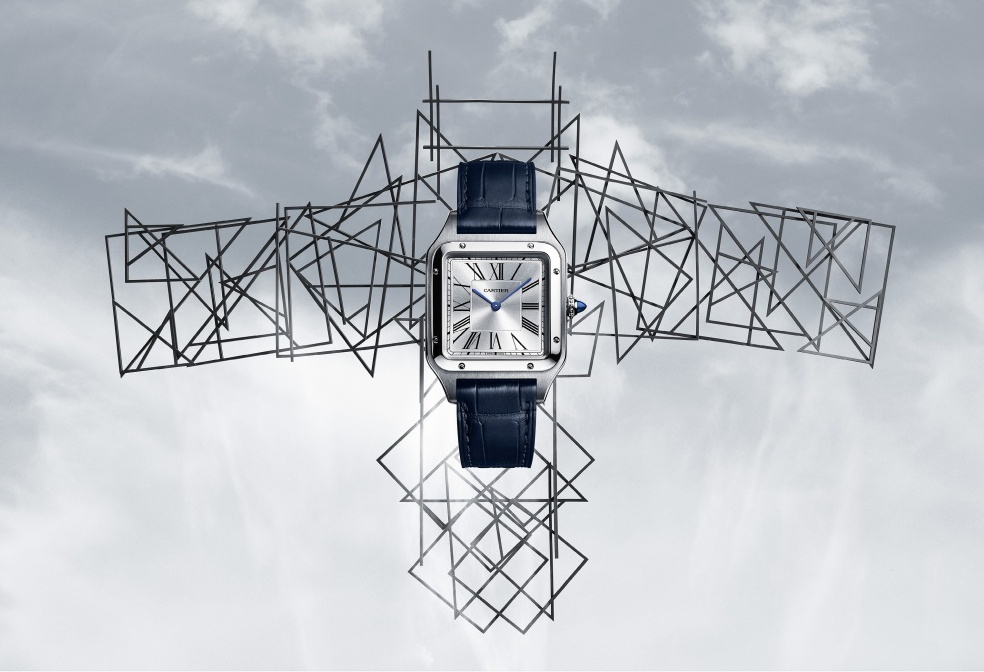 Новые модели часов Cartier Santos-Dumont