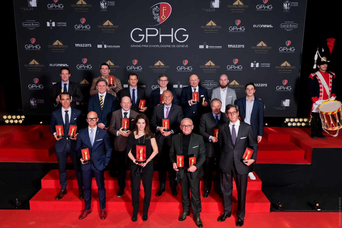 Bovet получает две награды от GPHG
