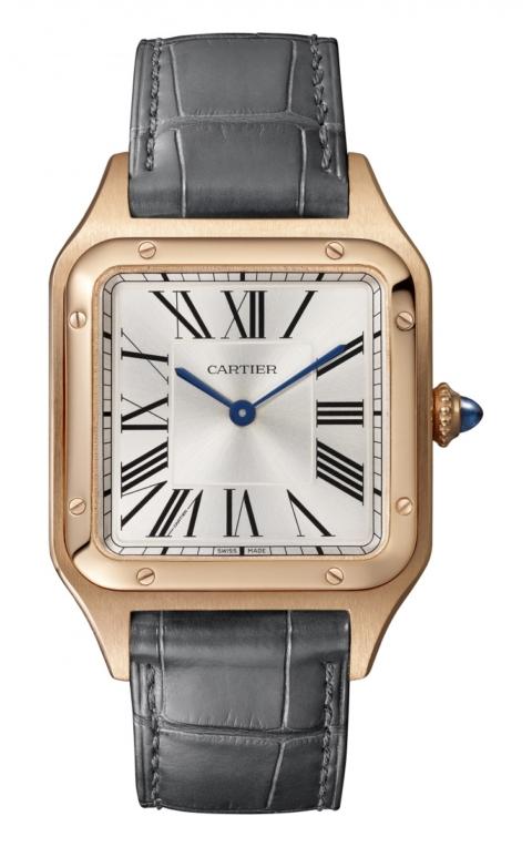 Часы Santos-Dumont из розового золота