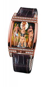 Часы Corum Golden Bridge Адам и Ева для истинных коллекционеров