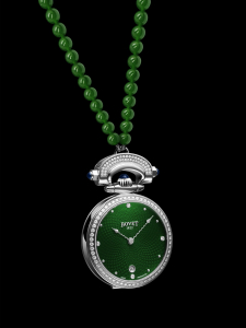 Bovet Miss Audrey с зеленым циферблатом