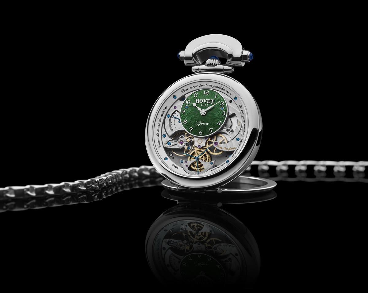 Зелёные часы