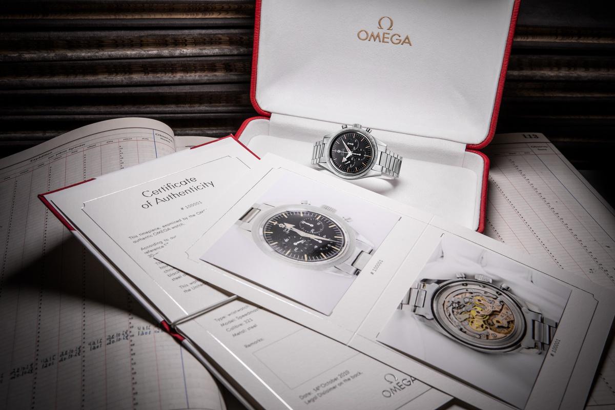 Винтажные часы Omega получат сертификат подлинности